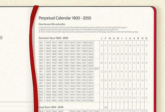 myNo Journal - Perpeptual Calendar
