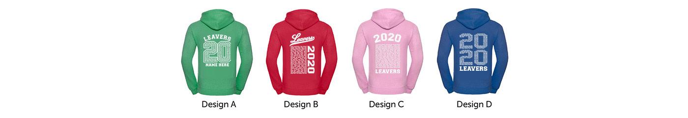 Leavers Hoodie Designs