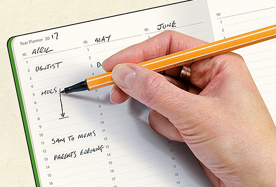 myNo Journal - Year Planner