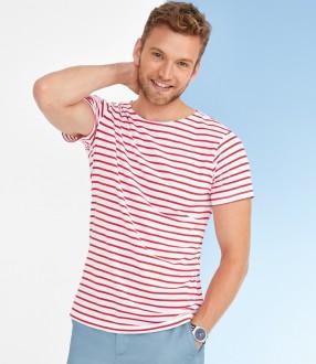 SOL'S Miles Stripe T-Shirt