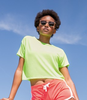 SOL'S Ladies Maeva Beach Cropped T-Shirt