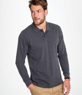 SOL'S Perfect Long Sleeve Pique Polo Shirt