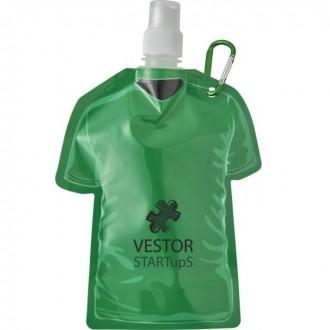Goal 500ml Football Shirt Shaped Water Bottle Bag