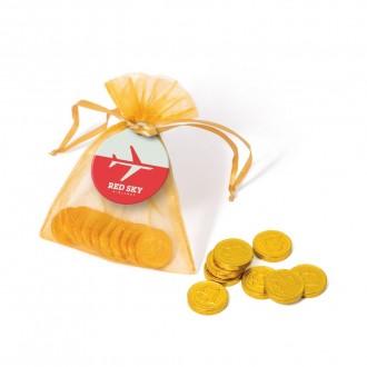 Organza Bag - Chocolate Coins