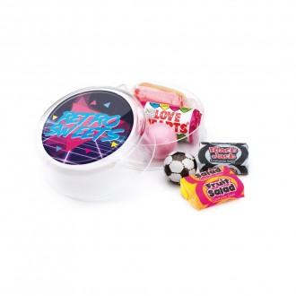 Maxi Round Pot - Retro Sweets