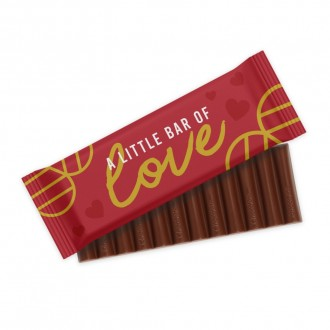 12 Baton Chocolate Bar - Valentine's Day