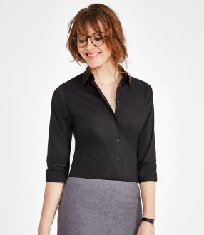 SOL'S Ladies Effect 3/4 Sleeve Fitted Shirt