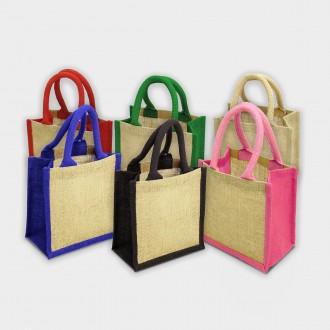Wells Jute Gift Bag