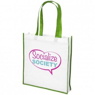 Large Contrast Shopper Bag