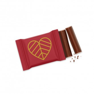3 Baton Chocolate Bar - Valentine's Day