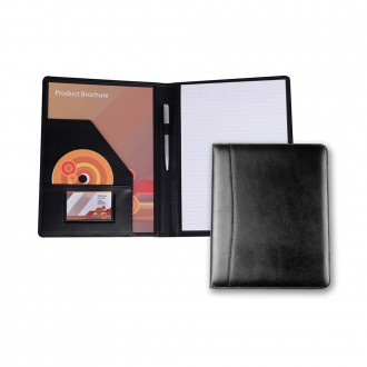 Ascot Leather A4 Deluxe Folder