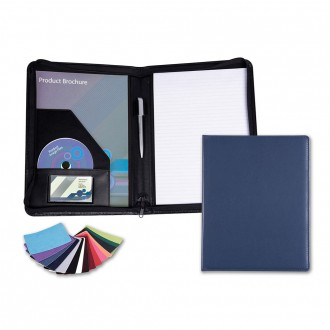Belluno A4 Zipped Conference Folder