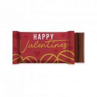 6 Baton Chocolate Bar - Valentine's Day