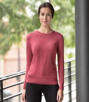 Russell Ladies Cotton Acrylic Crew Neck Sweater