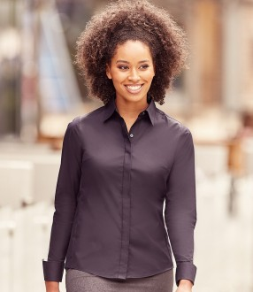 Russell Collection Ladies Ultimate Stretch Shirt