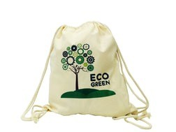 5oz Natural Double Drawstring Bag