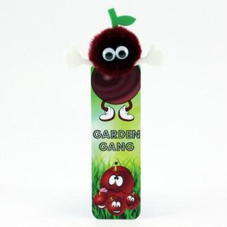 Healthy Eating Bug Bookmarks - Cherry