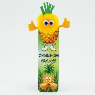 Healthy Eating Bug Bookmarks - Pineapple