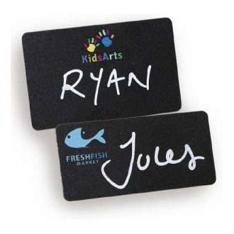 Blackboard Reusable Name Badges