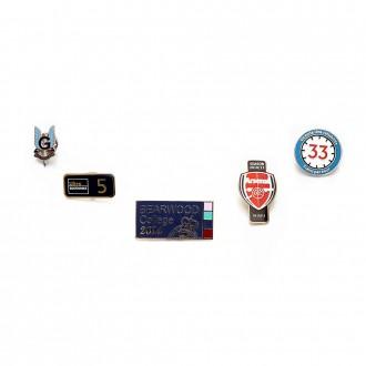 Synthetic Hard Enamel Badges 30mm