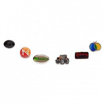 Soft Enamel Badges 30mm