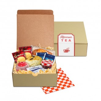 Afternoon Tea Square Gift Box