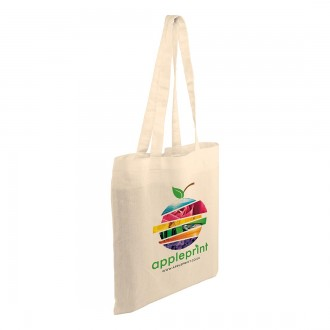 Natural Kingsbridge 5oz Cotton Tote Bag