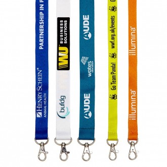 Silk Screen Lanyard 25mm