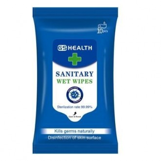 Antibacterial Wet Wipe Tissue Pack