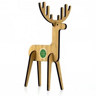 Bamboo Flat Pack Reindeer - Christmas Eco Postal Gift Pack