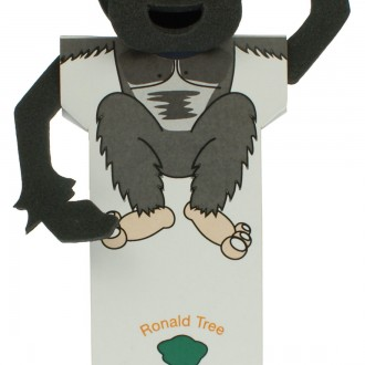 Body Bookmarks - Monkey