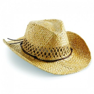Beechfield Straw Cowboy Hat