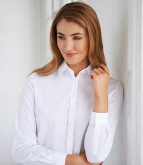 Brook Taverner Ladies One Selene Long Sleeve Poplin Shirt