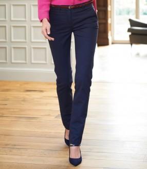 Brook Taverner Ladies Houston Slim Leg Chino Trousers