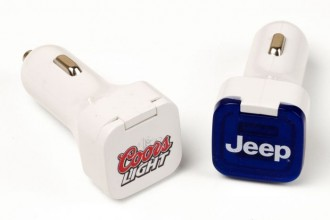 Flip Lid USB Car Charger