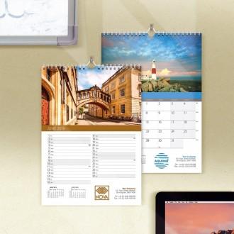 Compact Wall Calendar - British Scenes