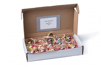Christmas Sweet Baubles - Box of 15