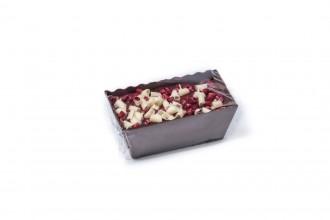 Christmas Brownie Loaf Boat - Raspberry