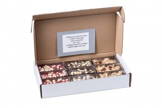 Christmas Brownie Box