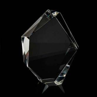 Crystal Chunky Facet Iceberg Award