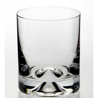 Dimple Base Whisky Glass
