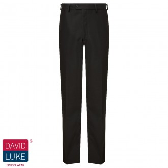 Flat Front Senior Trousers
