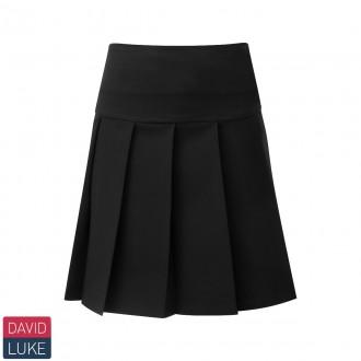 Junior Drop Waist Knife Pleat Skirt