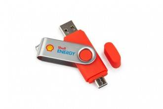 Dual Twister USB Stick