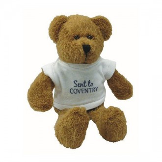 Scraggy Bear With White T-Shirt 9""