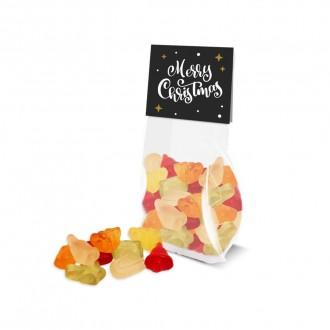 Eco Satchel Bag - Kalfany Christmas Fruit Gums