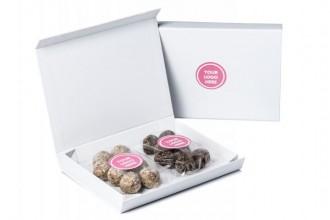 Branded Letter Box Energy Balls