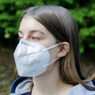 KN95/FFP2 6 Layer Protective Masks (Boxed in 25's)