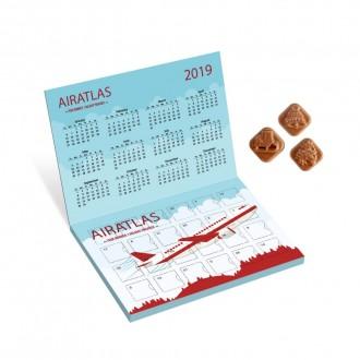 Classic Advent Calendar - Milk Chocolate - Flip Top