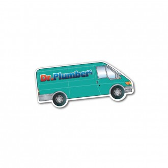 Van Shaped Vehicle Magnet